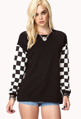 Forever 21 Finish Line Pullover