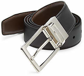 Ermenegildo Zegna Men's Reversible Belt