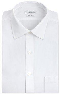 Van Heusen Men's Classic-Fit White Poplin Dress Shirt
