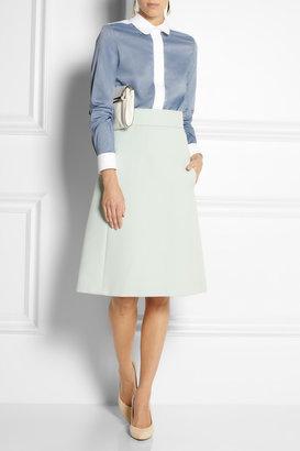 Chloé Cotton-chambray shirt