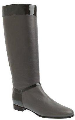 J.Crew Long Fabienne flat boots