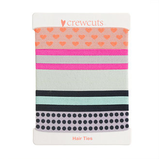 J.Crew Girls' knotted hair ties five-pack