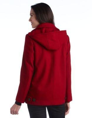 Portrait Wool Swing Coat
