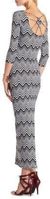 Charlotte Russe Strappy Back Body-Con Maxi Dress