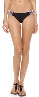 Mara Hoffman Mirror Embroidery Bikini Bottoms