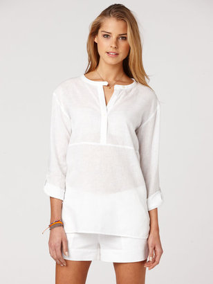 C&C California Linen tunic