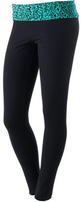 So fold-over lounge leggings - juniors'
