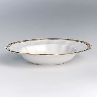"""Carlton Royal Crown Derby Gold"""" Rim Soup Plate"""