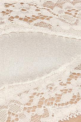 Stella McCartney Clara Whispering stretch-silk satin briefs