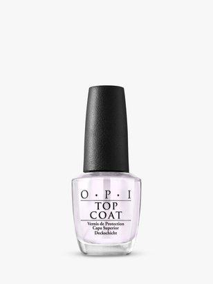OPI Nail Lacquer Top Coat, 15ml