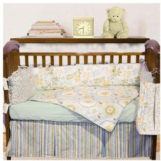 Baby Doll Bedding Botanic Garden Crib Bedding Set - Green
