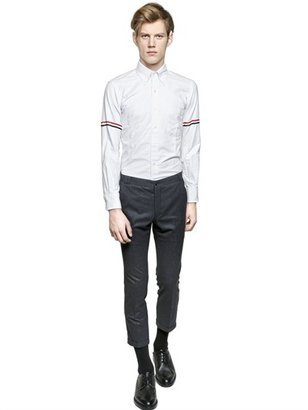 Thom Browne Micro Striped Oxford Cotton Shirt