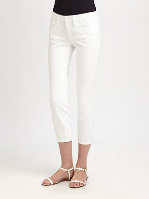 Tory Burch Alexa Cropped Jeans