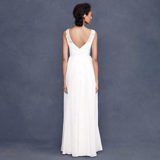 J.Crew Collection crystalline gown