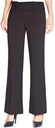 Amy Byer Juniors' Wide-Leg Pants
