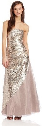 Jump Juniors Glamorous Sequin Prom Gown