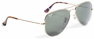 Brooks Brothers Ray-Ban Aviator Sunglasses with Madras