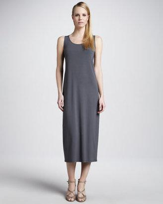 Eileen Fisher Sleeveless Jersey Long Dress