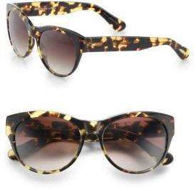 Oliver Peoples Mande Plastic Cat's-Eye Sunglasses