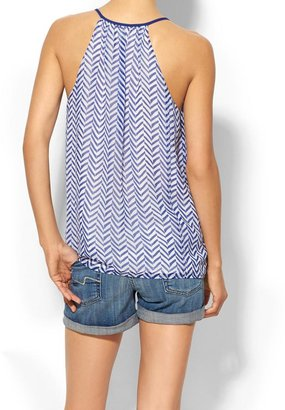 Rhyme Los Angeles Sleeveless Geometric Trapeze Top