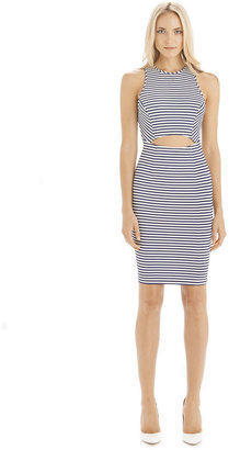 Torn By Ronny Kobo Yonal Thin Stripe Dress