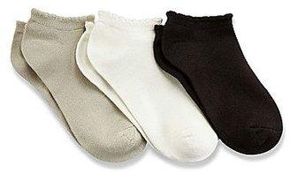 JCPenney 3-pk. No-Show Socks