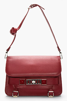 Proenza Schouler Red leather PS11 Classic bag