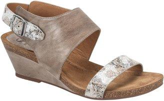Sofft Leather Wedge Sandals - Vanita