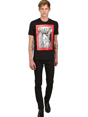 Givenchy Cuban Fit Sex Printed Jersey T-Shirt