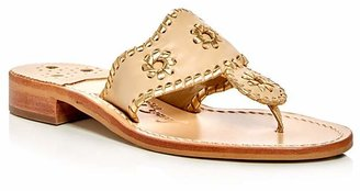 Jack Rogers Nantucket Thong Sandals $118 thestylecure.com