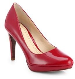 Cole Haan Chelsea Patent Leather Platform Pumps