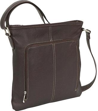 Le Donne Leather Drop Down Pocket Crossbody