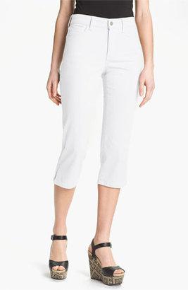 NYDJ 'Nanette' Crop Stretch Jeans (Petite)