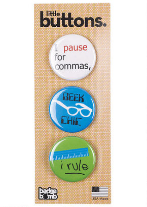 Delia's Badge Bomb Geek Chic Button Pack