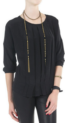 Pomandére Pleated Front Shirt