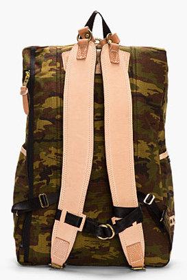 Camo MASTER-PIECE Co Green Print Surpass Backpack