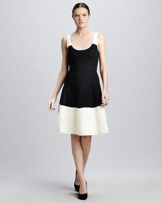 Kate Spade Constance Colorblock Sweater Dress