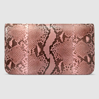 Gucci Jackie Soft python clutch