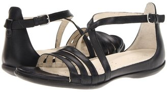 Ecco Flash 3 Strap Sandal (Black) - Footwear