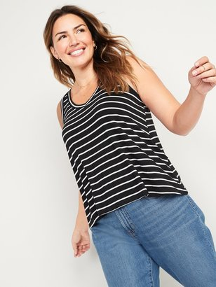 Old Navy Luxe Jersey-Knit V-Neck Tank Top for Women