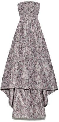 Rochas Preorder Pleated Starfish Taffeta Gown