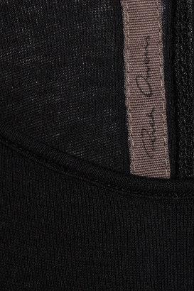 Rick Owens Cotton-jersey midi dress