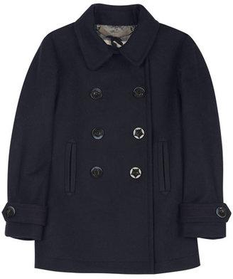 Jigsaw Wool Cashmere Pea Coat