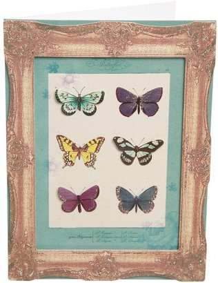 Paperchase Butterfly Frame Card
