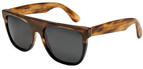 RetroSuperFuture Super Flat Top Stripe Brown & Black