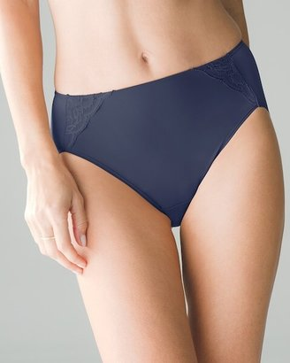 Soma Intimates High-Leg Brief with Lace