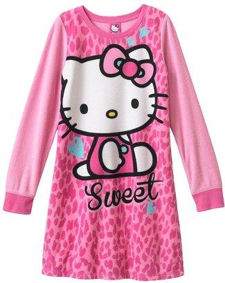 Hello Kitty fleece nightgown - girls 6-16