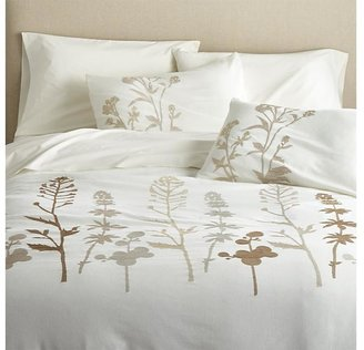 Crate & Barrel Woodland Full/Queen Duvet Cover