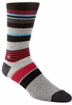 Calvin Klein Multi Striped Crew Socks