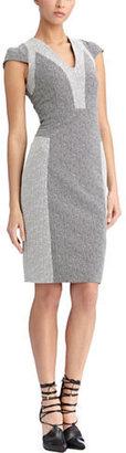 Rachel Roy Chevron Jacquard Dress